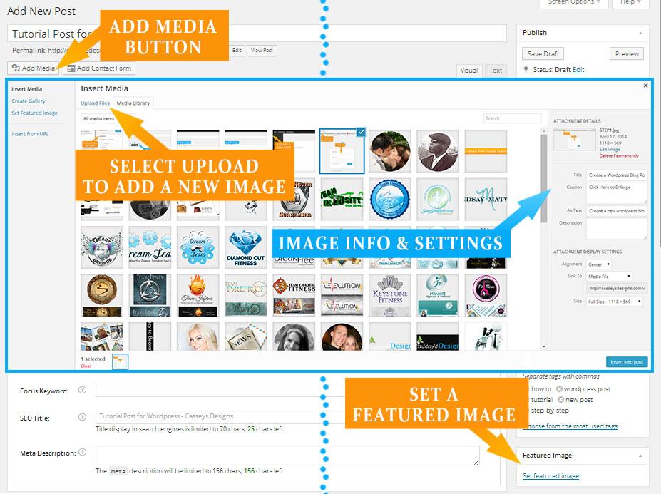 STEP 6 - Add Media