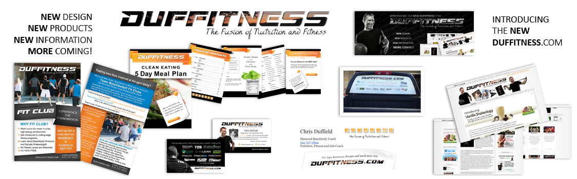 Duffitness Web Design