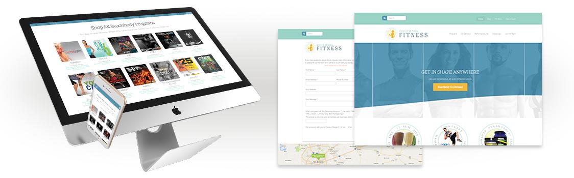 Emerald Beachbody Website Design Package